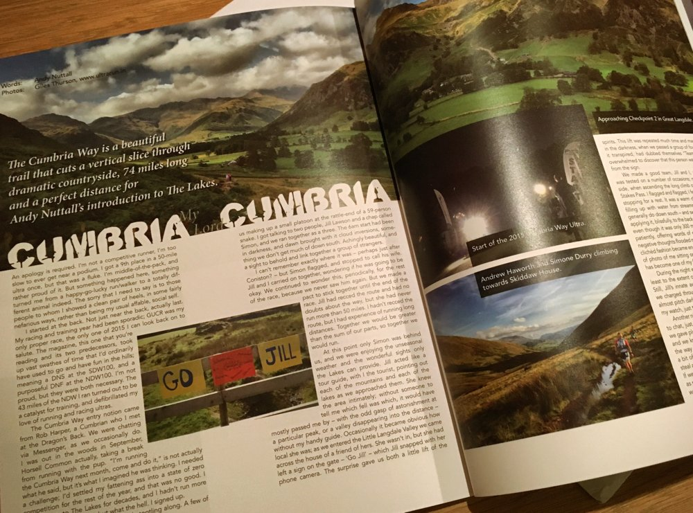Ultrarun.in photos in Ultra Magazine