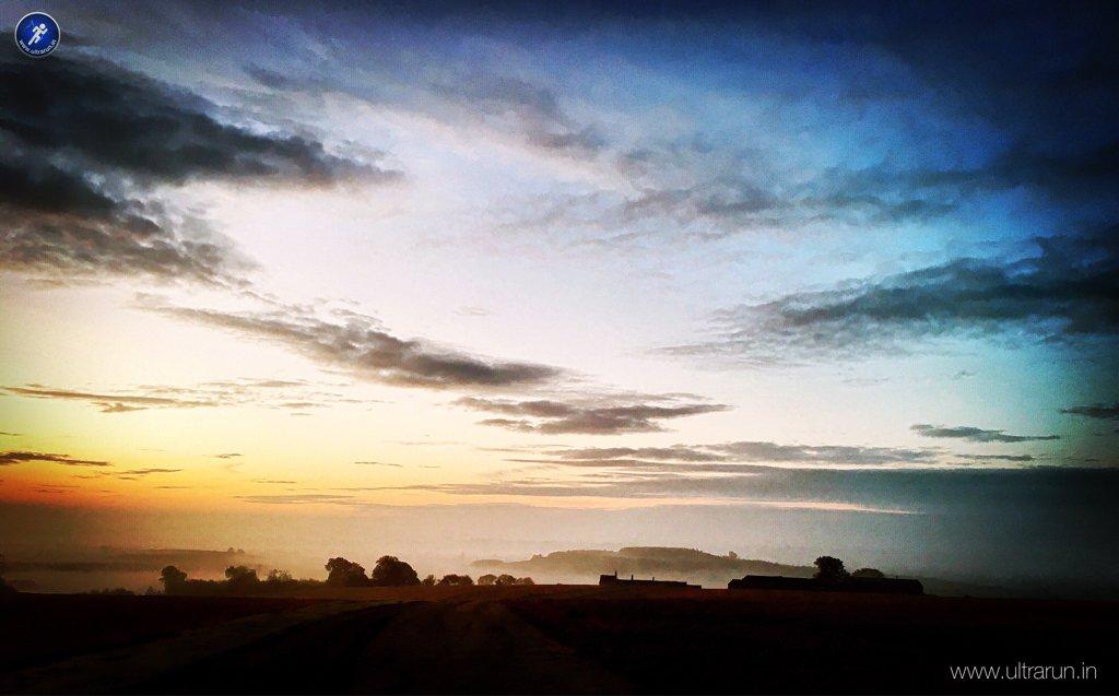 Dawn over Rutland, UK