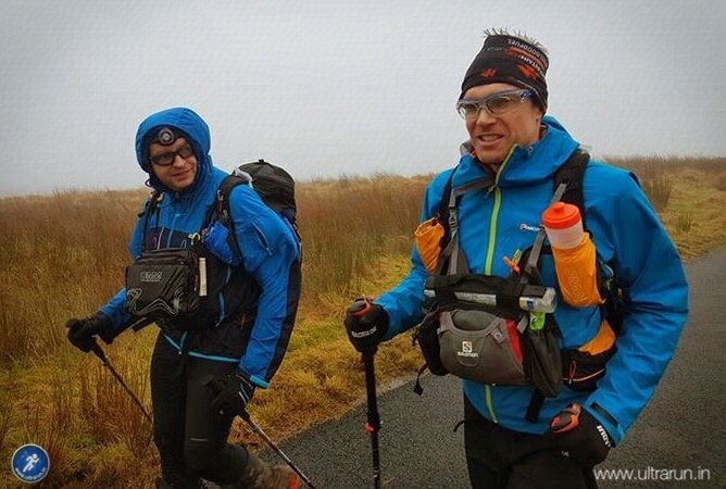 Giles and Ricky smiling but wishing the Cam High Road was over! Photo courtesy of John Figiel.