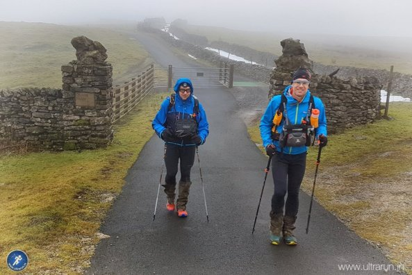 Finally the end of the Cam High Road. Its downhill (ish) to Hawes from here! Photo courtesy of John Figiel.