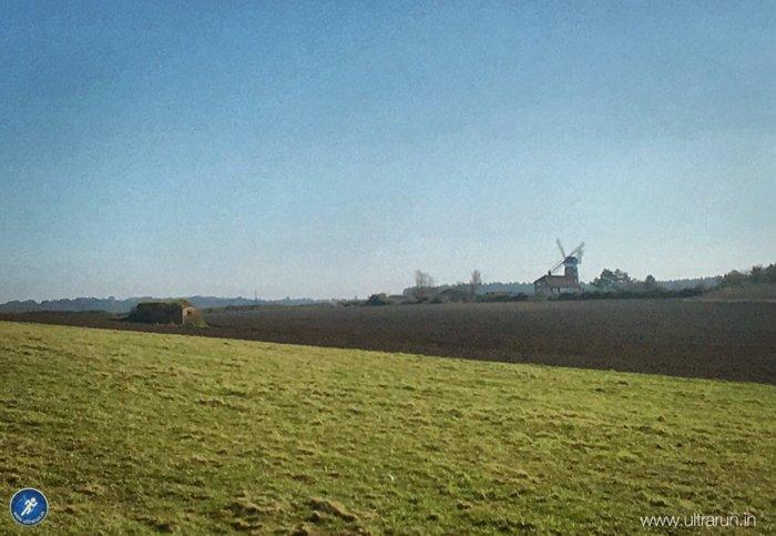 Norfolk skyline under blue skies