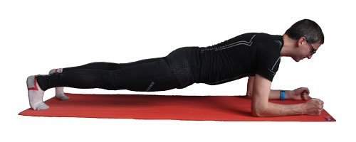 Core exercise: Plank