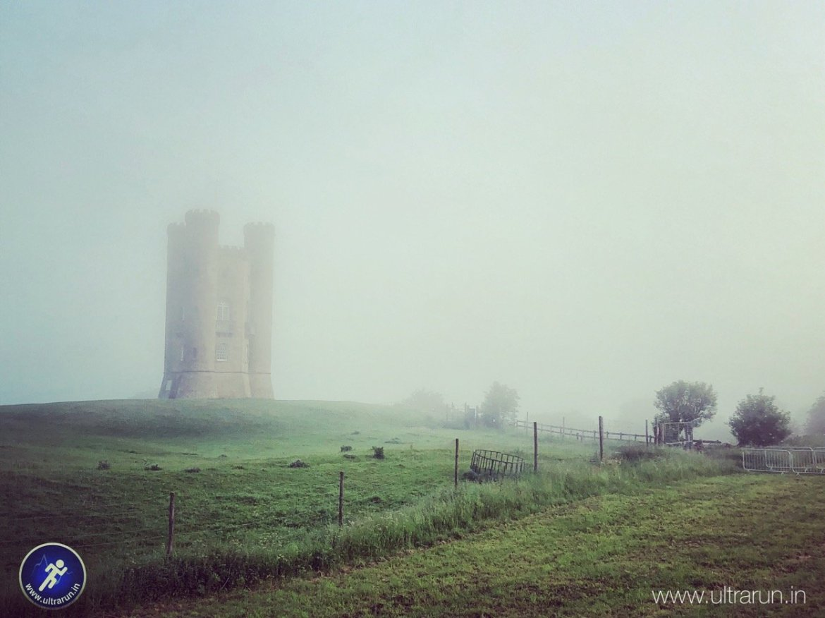 Misty Morning at Broadway Tower