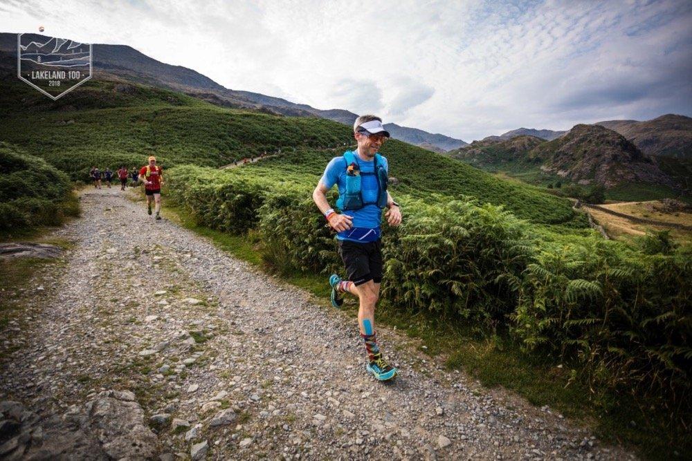 Giles Running Towards Walna Scar Road