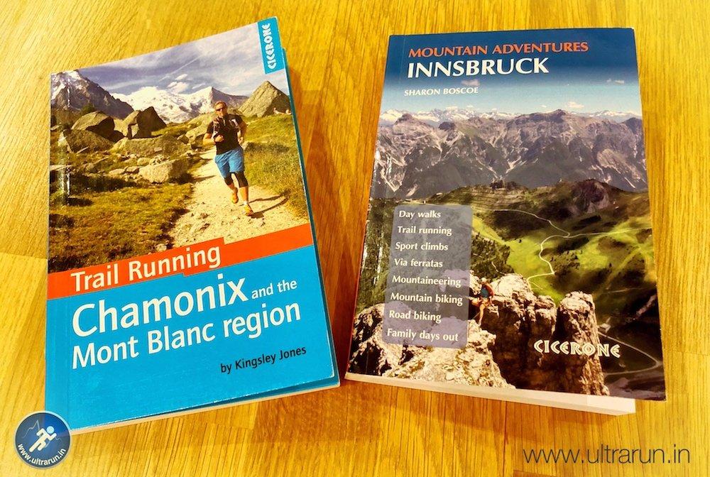 Summer Alpine Running Guidebooks
