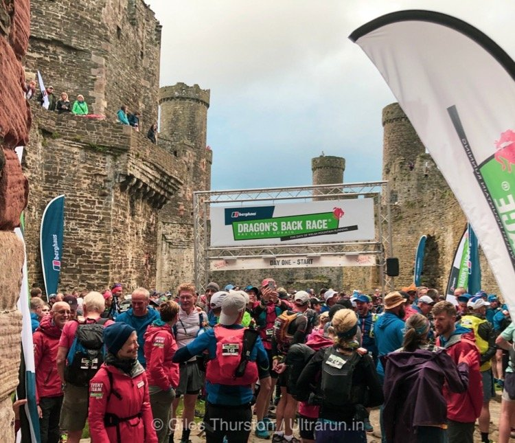 Dragons Back 2019 / Day One: The Start in Conwy Castle