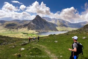 Dragons Back 2019 / Day One: Descent to Ogwen with Tryfan and Glyderau Beyond
