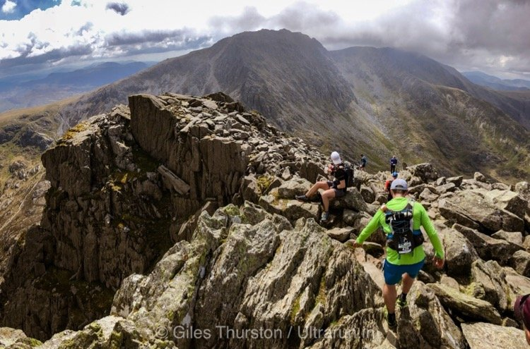 Dragons Back 2019 / Day One: Descent Off Tryfan with The Glyderau Beyond