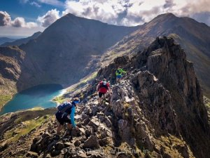 Dragons Back 2019 / Day One: Crib Goch Traverse with Snowdon Beyond