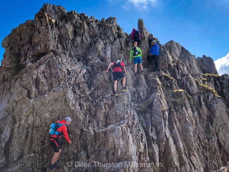Dragons Back 2019 / Day One: Crib Goch Traverse