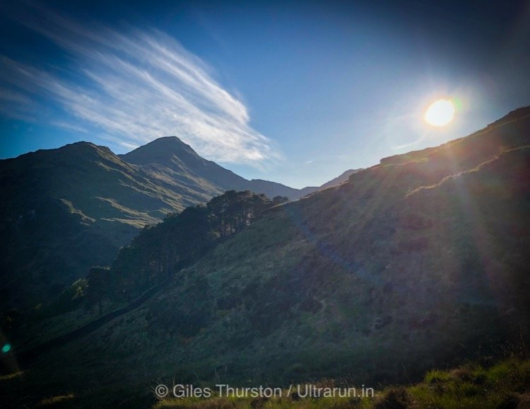 Dragons Back 2019 / Day One: Final Views of Snowdon as We Descend to Camp One