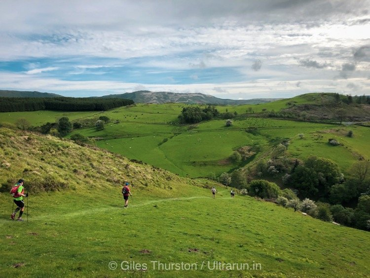 Dragons Back 2019 / Day Three: Rolling Runnable Terrain to the South of Machynlleth