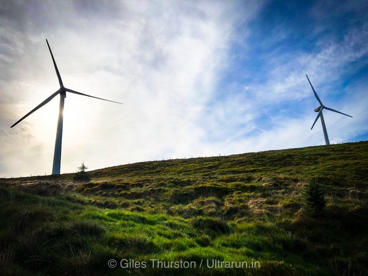 Dragons Back 2019 / Day Four: Eerie Views and Creaks and Groans of The Wind Farm