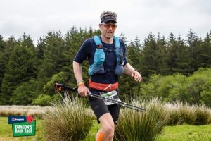 Dragons Back 2019 / Day Five: Giles Approaching The Black Mountain