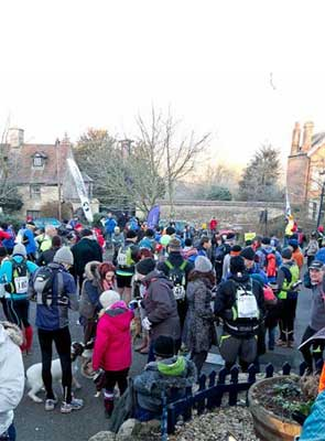 Start of the Thames Trot 2013 Photo courtesy Richer Sea Photography