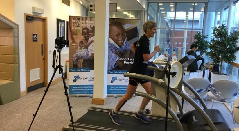 Sharon Gayter's 10 Marathons in 10 Days Record Attempt