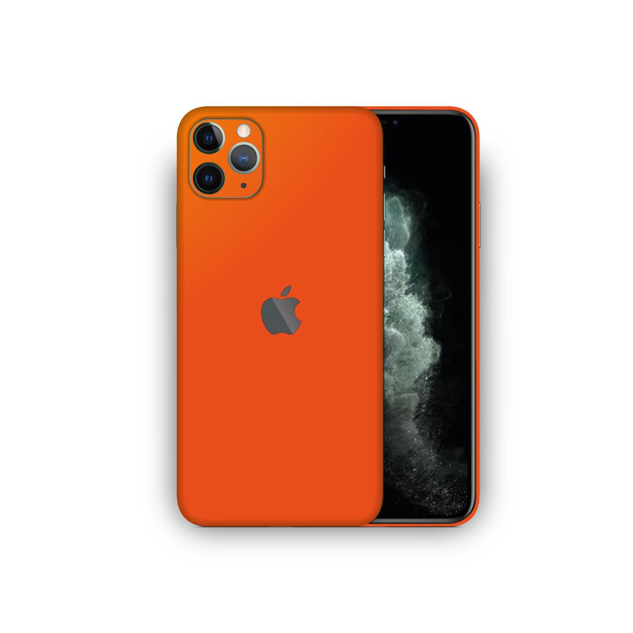 Apple iPhone 11 Pro MATTE ORANGE Skin Vinyl Wrap