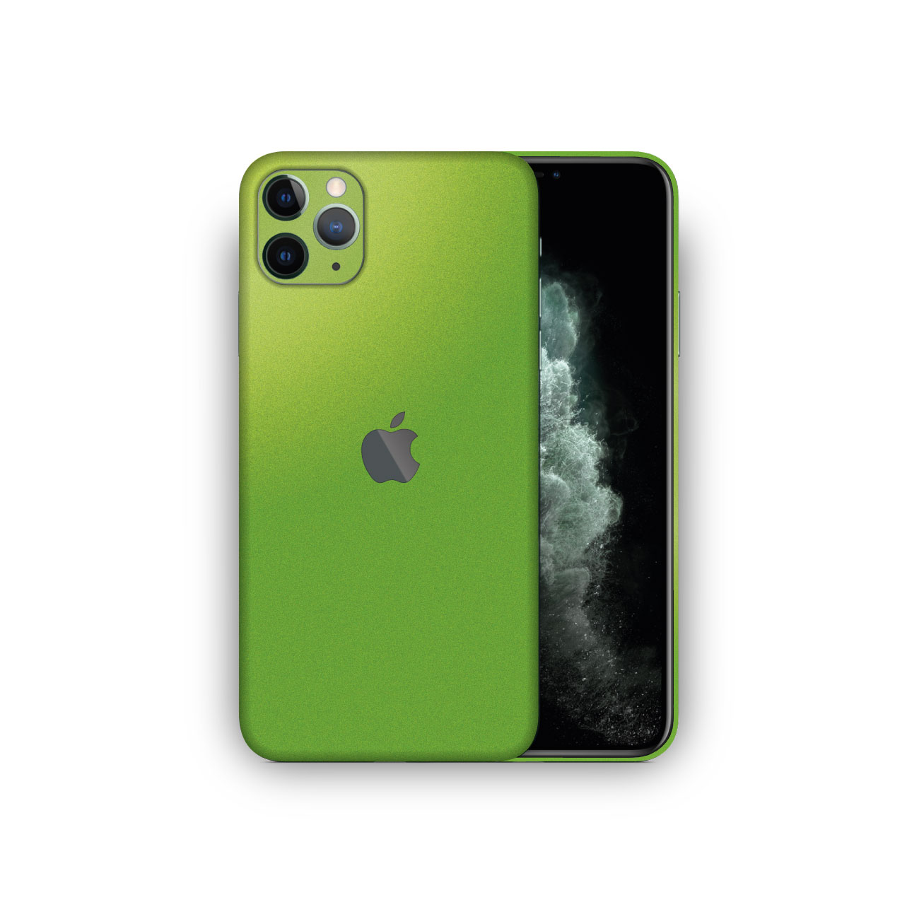 Apple iPhone 11 Pro Viper Green Metallic Matte Vinyl Skin Wrap