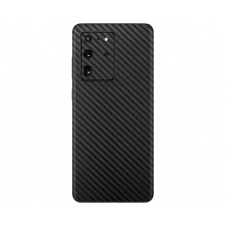 3D Black Carbon Fibre Skin for Samsung Galaxy S20 Ultra