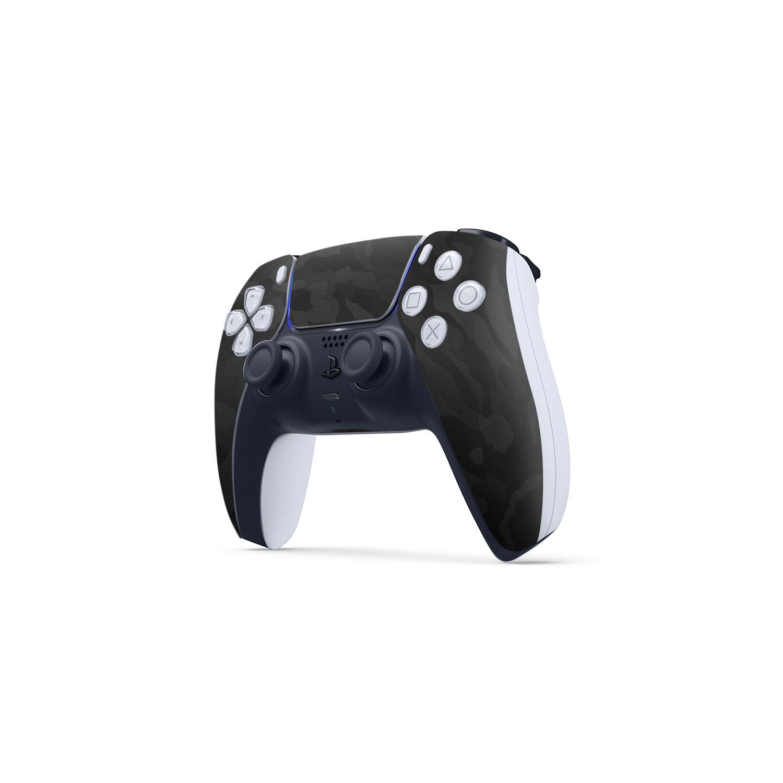 3m Black Camo Skin Wrap Sony PS5 DualSense Controller