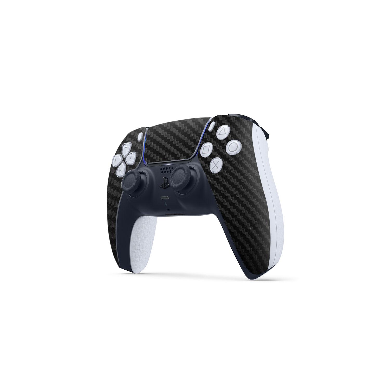 3M Black Carbon Fibre Skin Wrap Sony PS5 DualSense Controller