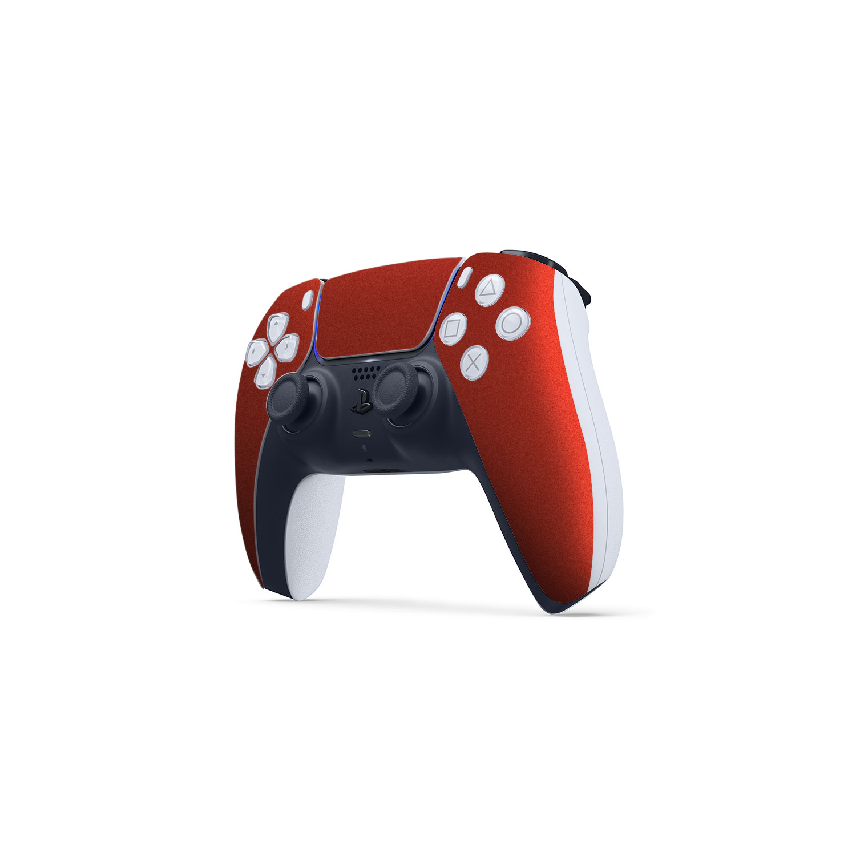 Gloss Vengeance Red Skin Wrap Sony PS5 DualSense Controller