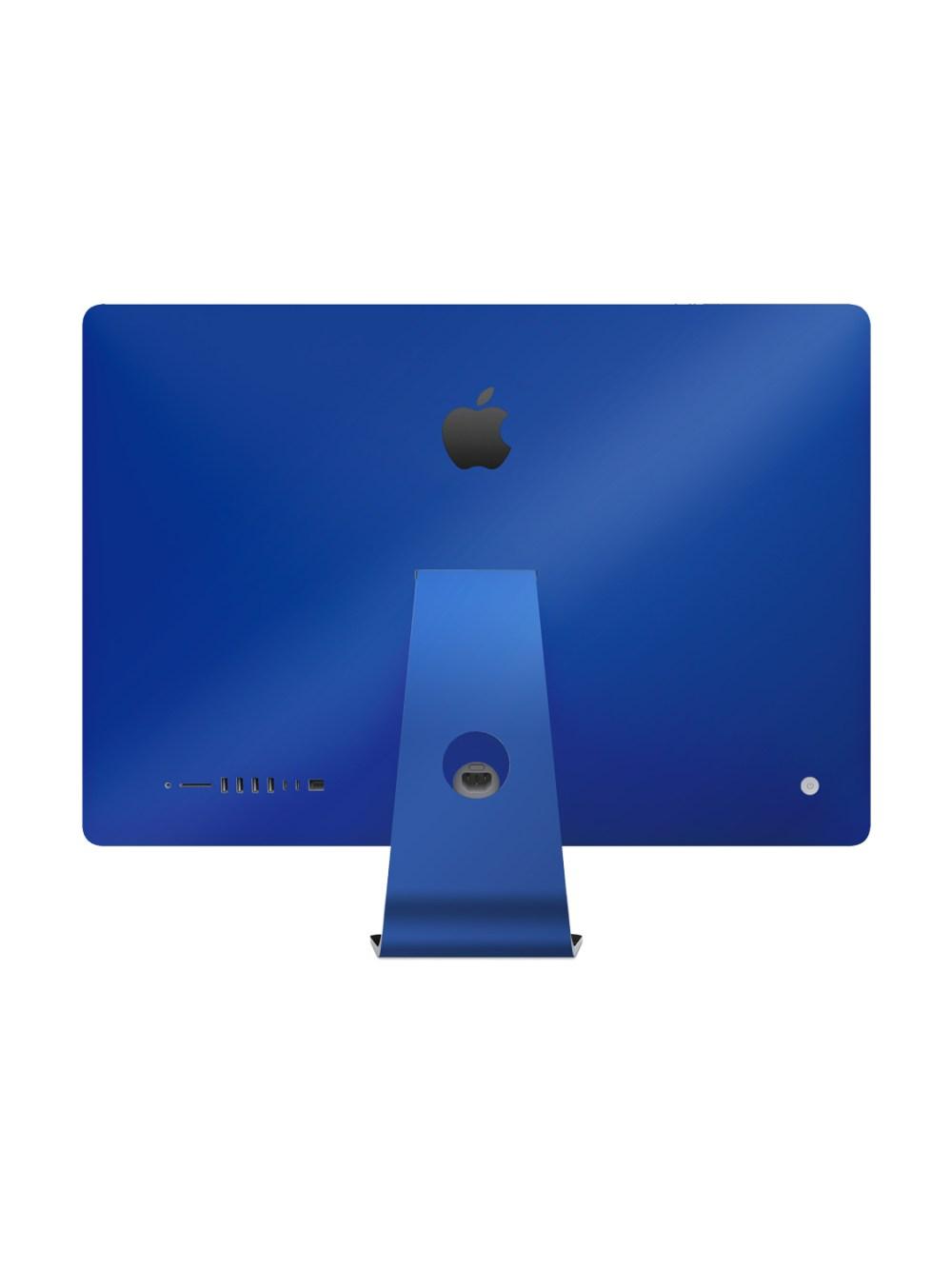 Gloss Royal Blue Skin for Apple iMac 27-inch