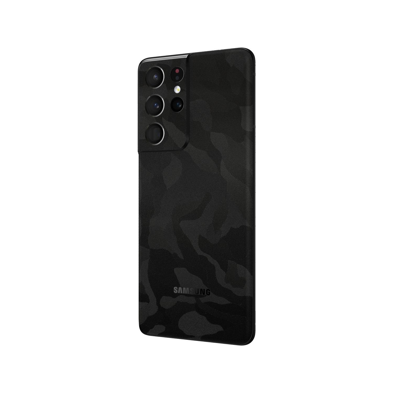 3M Camo Black Skin Wrap for Samsung Galaxy S21 Ultra