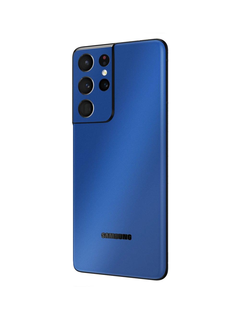 Gloss Royal Blue Skin Wrap for Samsung Galaxy S21 Ultra