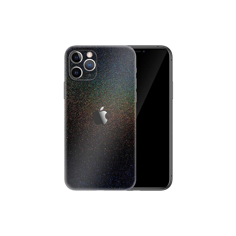 Apple iPhone 11 Pro Gloss Cosmic Morpheus Black Skin Wrap