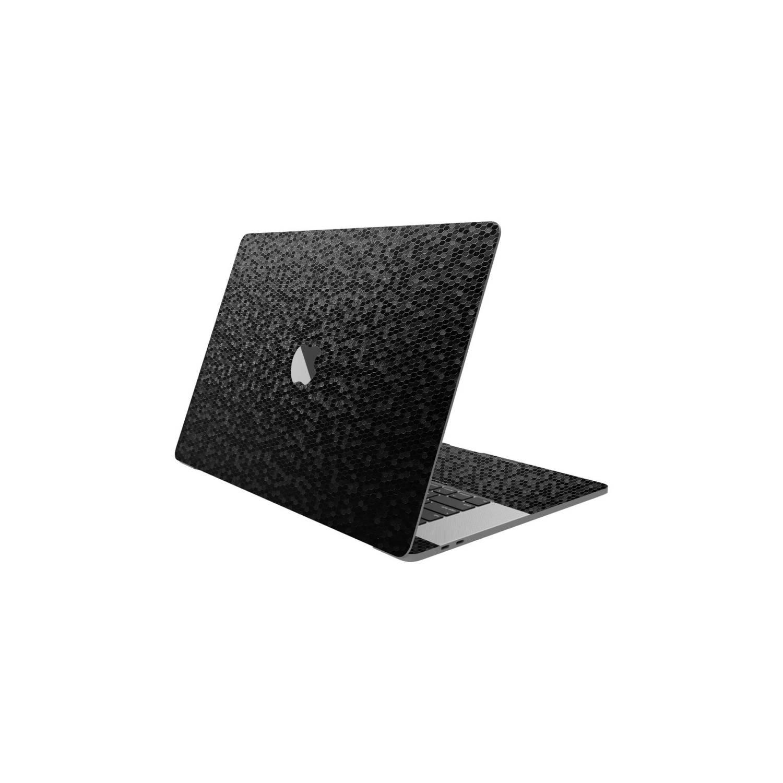 Black 3D Honeycomb Skin for Apple Macbook Pro M1 2020