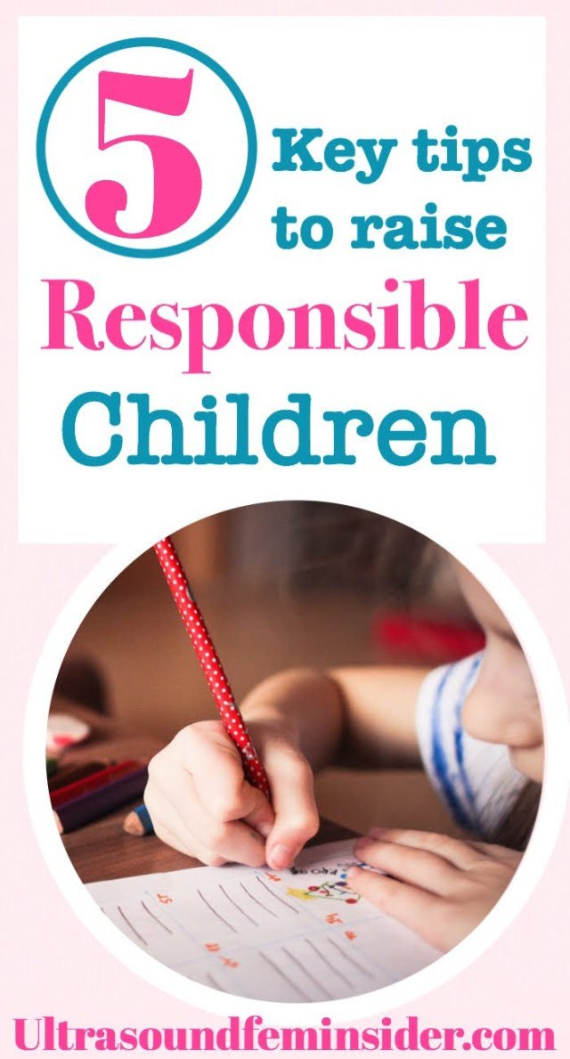 tips to raise responsible children