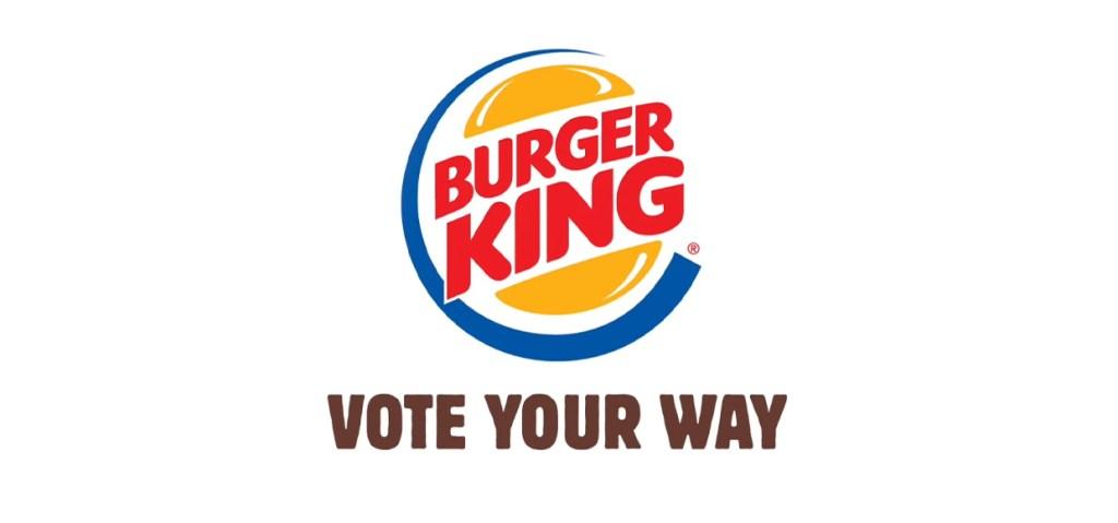 """Vote your way"" de Burger King"