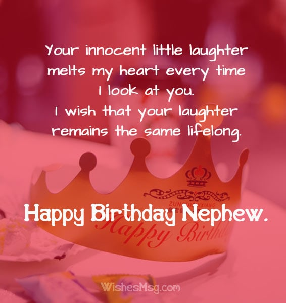 Birthday Wishes And Messages For Nephew Ultra Wishes