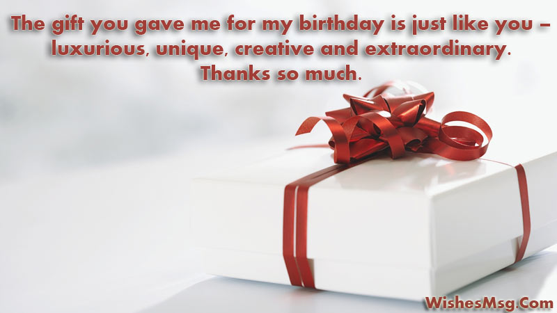 90 Perfect Thank You Messages For Gift Ultra Wishes