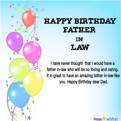 40 Best Birthday Wishes For Father In Law Ultra Wishes