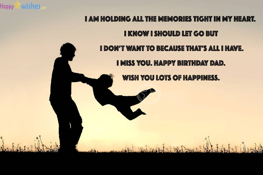 Happy Birthday Daddy In Heaven Quotes Messages Ultra Wishes