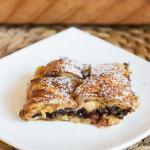 Pudding z Nutellą i croissantami