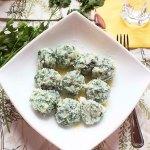 Gnocchi ze szpinakiem i ricottą