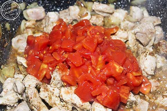 Amerykańskie wieprzowe chilli