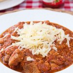 Amerykańskie wieprzowe chili / Mięso