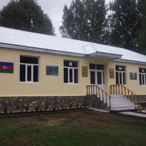 Building of kindergarten in Kish village of Sheki