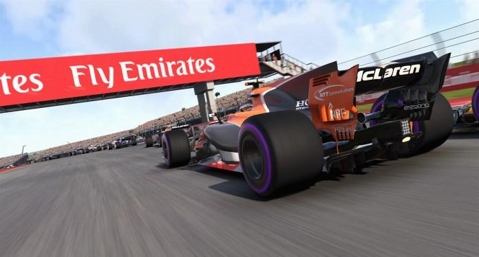 F1 2017 - McLaren