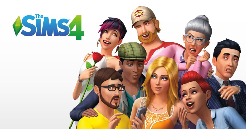 The Sims 4 - Header