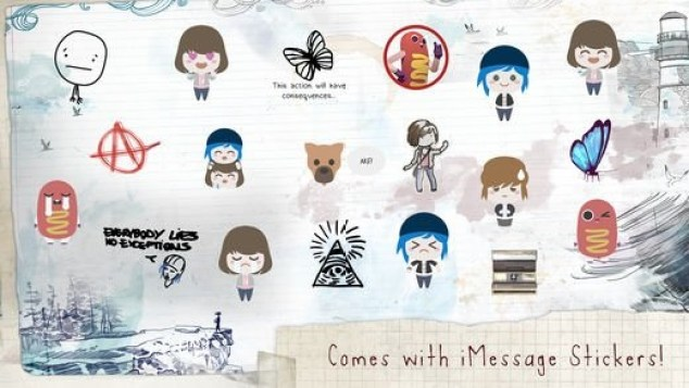 Life is Strange - iMessage-stickers