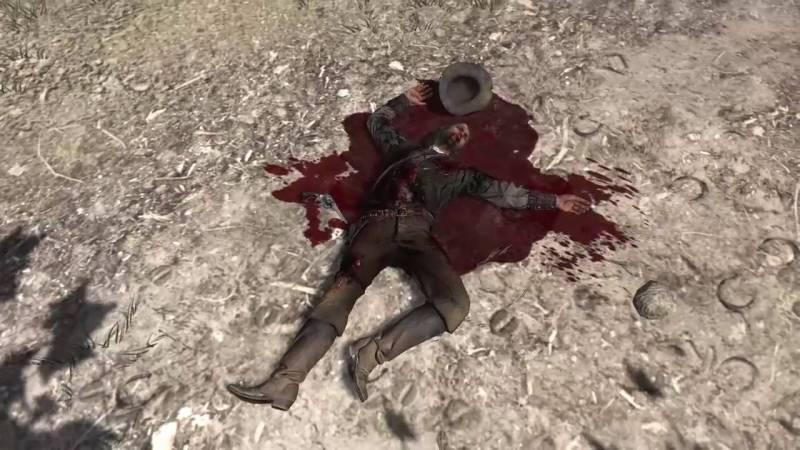 John Marston Death