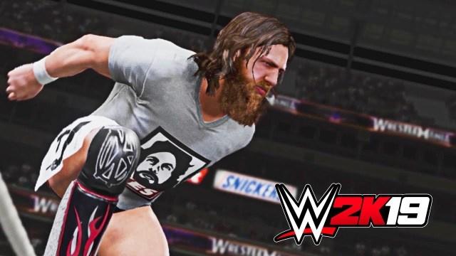 WWE 2K19 Daniel Bryan