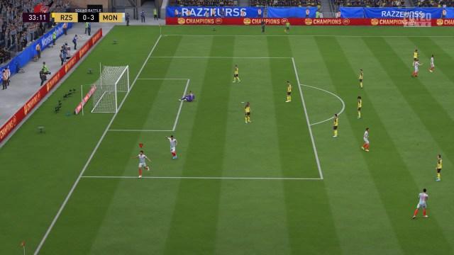 FIFA 20 FUT Squad Battles 0-3 FUT - FUT, 1. omgang