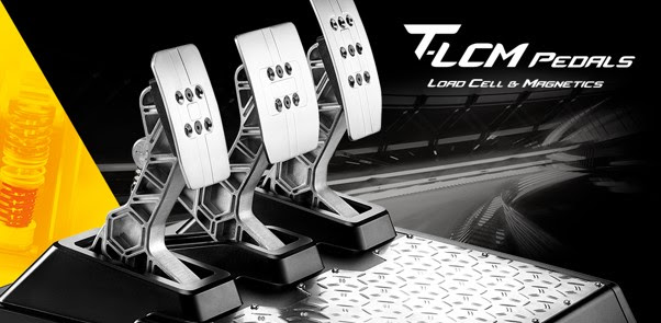 Thrustmaster is releasing a new set of pedals.