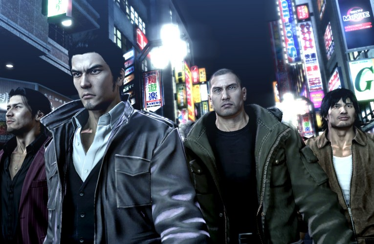 Yakuza 5 is now available for The Yakuza Remastered Collection